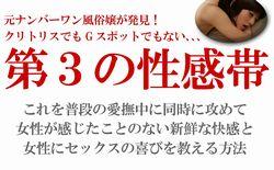 元ナンバーワン風俗嬢である葉山美希が発見した「第3の性感帯」に関する情報